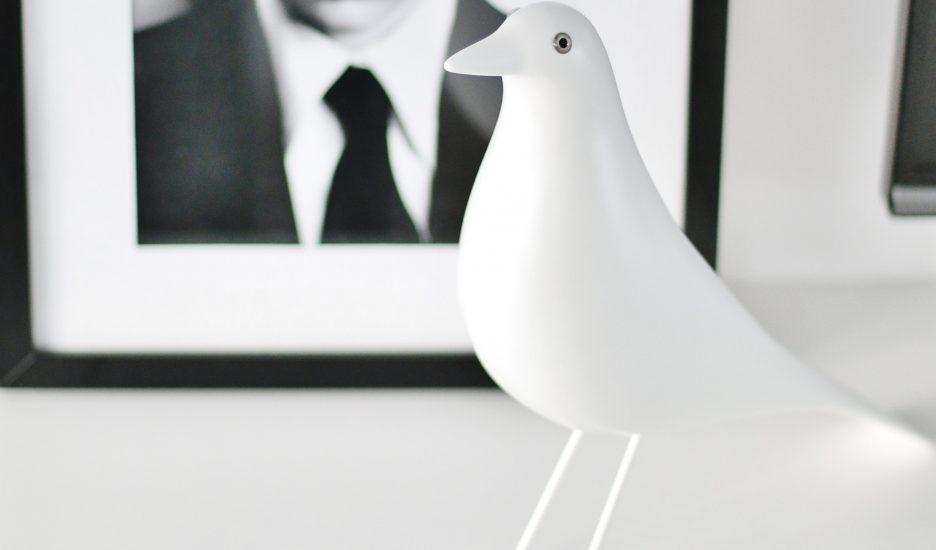 Hvítur House Bird er jólagjöfin í ár